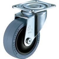 静シリーズ E型 自在 ゴム車 125mm 420BBE-FR125-BAR01 1個 352-8201 (直送品)