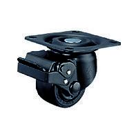 ハンマーキャスター ハンマー 低床式重荷重SP付ナイロンB車65mm 545HNRB65BAR01 1個 330ー5554 (直送品)
