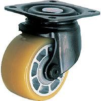 低床式 重荷重用 自在 ウレタン車B入り75mm 540S-BAU75-BAR01 1個 125-1473 (直送品)