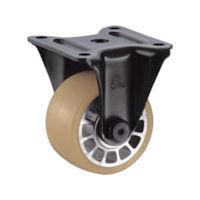 ハンマーキャスター ハンマー 低床式 重荷重用 固定 ウレタン車B入り75mm 540SRBAU75BAR01 1個 125ー1511 (直送品)