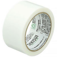 積水化学工業 フィットライトテープ No.738 半透明 幅50mm×25m巻 N738T04 1セット(5巻:1巻×5)