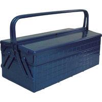 トラスコ中山(TRUSCO) 2段式工具箱 472X220X289 ブルー GL-470-B 1個 121-3555 (直送品)