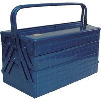 トラスコ中山(TRUSCO) 3段式工具箱 412X220X343 ブルー GT-410-B 1個 121-4187 (直送品)