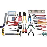 トラスコ中山(TRUSCO) ピカイチ プロ用電設工具セット 26点セット PKD1 1セット 365-5822 (直送品)
