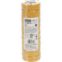 スリーエム ジャパン 3M ビニールテープ 117 黄 19mmX10m 10巻入り 117YEL1010P  342ー7099 (直送品)