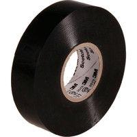 スリーエム ジャパン 3M ビニールテープ 117 黒 19mmX20m 10巻入り 117BLA2010P  342ー6963 (直送品)