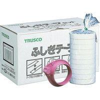 トラスコ中山 TRUSCO ふしぎテープ 幅18mmX長さ50m 10巻入 GJ18W5010V 1セット 213ー0246 (直送品)