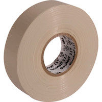 スリーエム ジャパン 3M ビニールテープ 117 ベージュ 19mmX20m 10巻入り 117BEI2010P  342ー6947 (直送品)