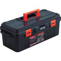 トラスコ中山(TRUSCO) プラスチック工具箱 スーパーハードボックス 全長620mm TSHB620 299-4828 (直送品)