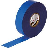 スリーエム ジャパン 3M ビニールテープ 35 青 19mmX20m 35BLU 1巻 327ー6511 (直送品)