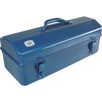 トラスコ中山(TRUSCO) 山型工具箱 455×176×211mm ブルー Y460B 301-7486 (直送品)