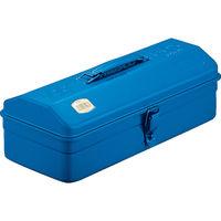 トラスコ中山(TRUSCO) 山型工具箱 359×150×124mm ブルー Y350B 162-4822 (直送品)
