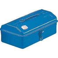 トラスコ中山(TRUSCO) 山型工具箱 290×150×123mm ブルー Y280B 162-4814 (直送品)