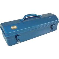トラスコ中山(TRUSCO) 山型工具箱 420×155×173.5mm ブルー Y410B 162-4831 (直送品)