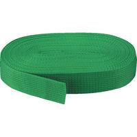 トラスコ中山 TRUSCO PPベルト幅30mmX長さ10m 緑 PPB3010 1本 511ー3792 (直送品)