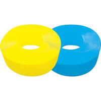 トラスコ中山 TRUSCO 手締用PPバンド 15.5mmX1000m巻 段ボールパック 黄 TPP155YD 1箱 342ー9865 (直送品)