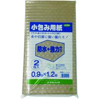 ユタカメイク(Yutaka) ユタカメイク 梱包用品 小包み用紙防水+強力タイプ 0.9m×1.2m A-141 1袋(1.2m) 367-4045(直送品)