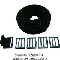 クラレリビング クラレ 自由自在バンド 幅25mm×長さ3m ブラック CP08 1巻 001-3226 (直送品)