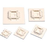 パンドウイットコーポレーション 粘着テープ付結束バンド固定具 ABM50 1セット(1袋:50個入×1) 252ー1831 (直送品)