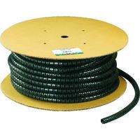 パンドウイット 電線保護チューブ スリット型スパイラル パンラップ 束線径12.0Φmm 61m巻き 黒 PW50F-T20 295-3722(直送品)