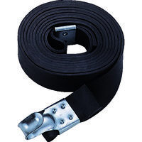トラスコ中山 TRUSCO ゴムロープ金具付 幅20mmX長さ1.5m GR2015K 1セット(10本:10本入×1パック) 511ー2389 (直送品)