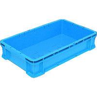 DICプラスチック DIC DA型コンテナDAー23 外寸:W610×D370×H125 青 DA23 1個 508ー0312 (直送品)