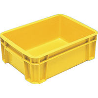 DICプラスチック DIC DA型コンテナDAー7 外寸:W336×D244×H121 黄 DA7 1個 500ー4900 (直送品)