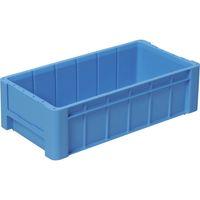 DICプラスチック DIC RC型コンテナRCー18 外寸:W550×D280×H160 青 RC18 1個 501ー1108 (直送品)
