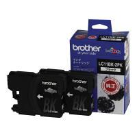 ブラザー インクジェットカートリッジ LC11BK-2PK ブラック 1パック(2個入)