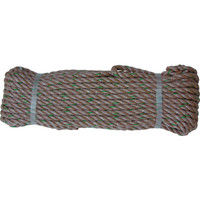 ユタカメイク ユタカ ロープ PPトラックロープ(OB) 9×20 TRP2 1巻 367ー7401 (直送品)
