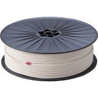 トラスコ中山 TRUSCO 綿ロープ 3つ打 線径9mmX長さ150m R9150M 1巻 276ー7503 (直送品)