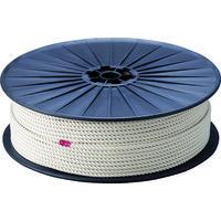 トラスコ中山(TRUSCO) TRUSCO 綿ロープ 3つ打 線径6mmX長さ200m R-6200M 1巻(200m) 276-7490(直送品)