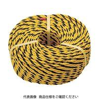 トラスコ中山 TRUSCO 標識ロープ 3つ打 線径10mmX長さ50m R1250T 1巻 276ー7538 (直送品)