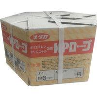ユタカメイク(Yutaka) KPメーターパックロープ 6mm×200m KMP-6 1個 367-5777 (直送品)