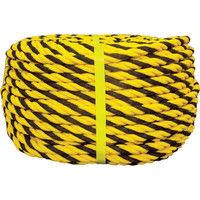 ユタカメイク(Yutaka) ロープ 標識ロープ巻物 12φ×100m Y12-100 1巻 355-4562 (直送品)