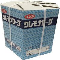 ユタカメイク ユタカ クレモナメーターパックロープ 12mm×200m VMP12 1巻 367ー7966 (直送品)