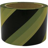 ユタカメイク ユタカ テープ 標識テープ(トラ) 70mm×50m AT14 1巻 367ー4878 (直送品)