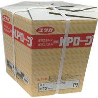 ユタカメイク(Yutaka) KPメーターパックロープ 12mm×200m KMP-12 1個 367-5769 (直送品)