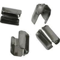 ユタカメイク ユタカ 金具 端末爪 4mm×8mm 4個入り KM12 1セット(4個:4個入×1袋) 367ー5751 (直送品)