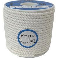 ユタカメイク ユタカ ロープ ビニロンロープボビン巻 5φ×30m RV3 1巻 367ー6862 (直送品)