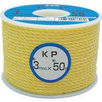 ユタカメイク(Yutaka) ロープ KPロープボビン巻 3φ×50m RK-1 1巻 367-6587 (直送品)