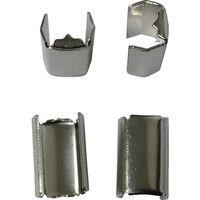 ユタカメイク ユタカ 金具 端末爪 6mm×13.5mm 4個入り KM03 1セット(4個:4個入×1袋) 367ー5696 (直送品)