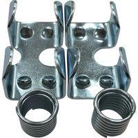 ユタカメイク ユタカ 金具 ロープキャッチャー鉄 9φ用 KJ182 1セット(2個:2個入×1袋) 367ー5653 (直送品)