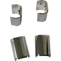 ユタカメイク ユタカ 金具 端末爪 6mm×10.5mm 4個入り KM02 1セット(4個:4個入×1袋) 367ー5688 (直送品)