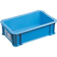 DICプラスチック DIC DA型コンテナ ボックス型 外寸:W326×D204×H100 黄 DA5 1個 500ー4811 (直送品)