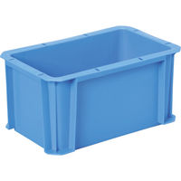 DICプラスチック DA型コンテナDA-5H 外寸:W326×D204×H162 青 DA-5H B 1個 500-4861 (直送品)