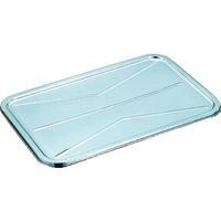スギコ産業(SUGICO) 18-8給食バット 蓋 630×400×15 KB-201 1個 500-6627 (直送品)