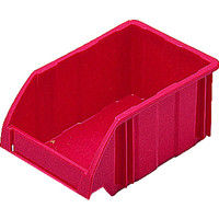 DICプラスチック DIC B型コンテナ Bー1 外寸:W197×D130×H90 赤 B1 1個 500ー4713 (直送品)