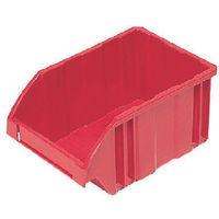 DICプラスチック DIC B型コンテナ Bー2 外寸:W278×D188×H138 赤 B2 1個 500ー4748 (直送品)