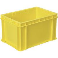 DICプラスチック DIC F型コンテナFー21 外寸:W424×D291×H244.5 黄 F21 1個 501ー1710 (直送品)